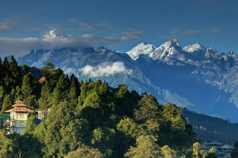 HIKING ACROSS DARJEELING-SIKKIM